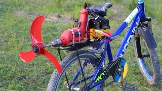 Build a Air Bike at home - Useing Powerful DRIL