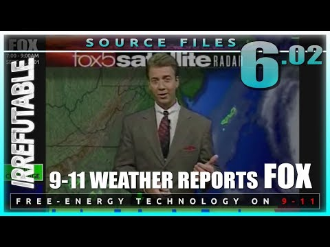 Morning of 9/11 Weather Reports FOX + Hurricane Erin Coverage Tallied   IRREFUTABLE Source File 6.2