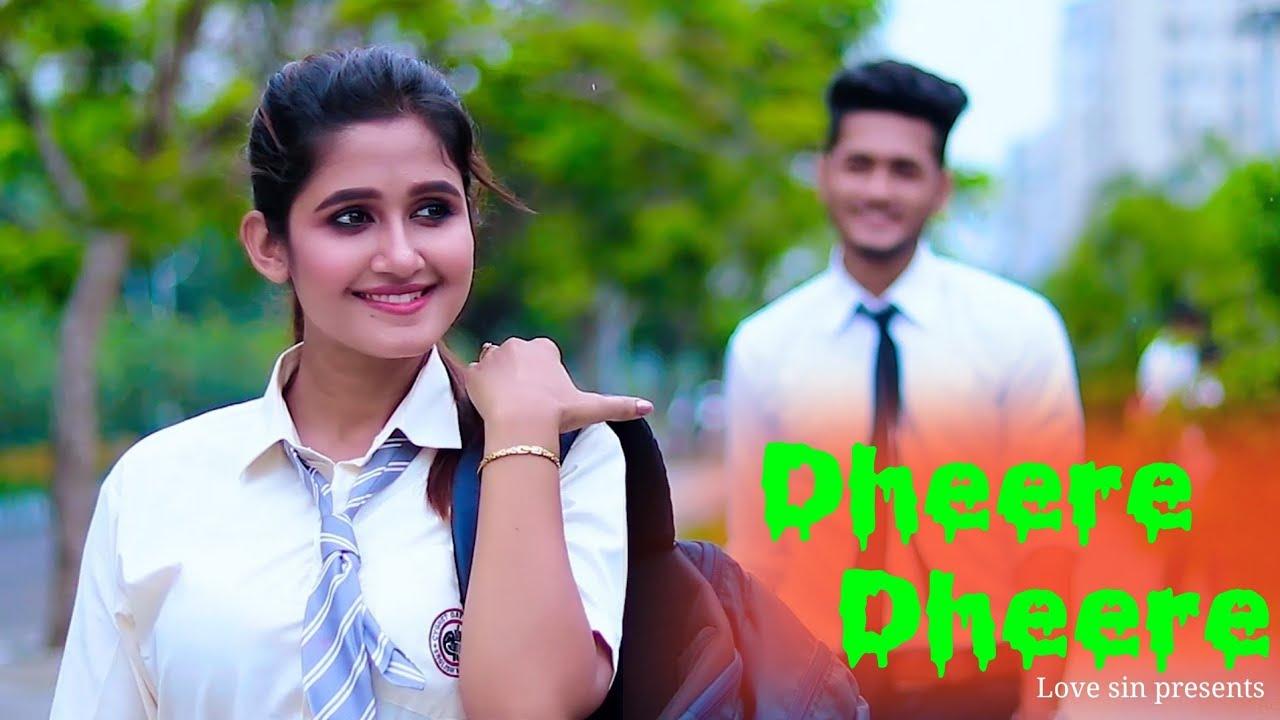 Dheere Dheere Se Meri Zindagi | Swapneel Jaiswal | school love story | Ft.  Misti & Rijit