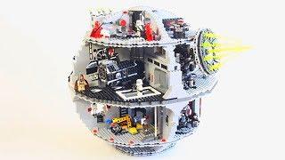 Лего Звездные Войны Звезда Смерти Обучающие и развивающие видео сборки из конструктора Лего.