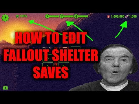 How To Edit Your Fallout Shelter Saves (Steam)