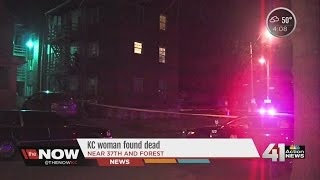Kansas City woman found dead in her apartment