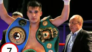 Top-10 kazakh boxers/Топ-10 боксеров казахстана