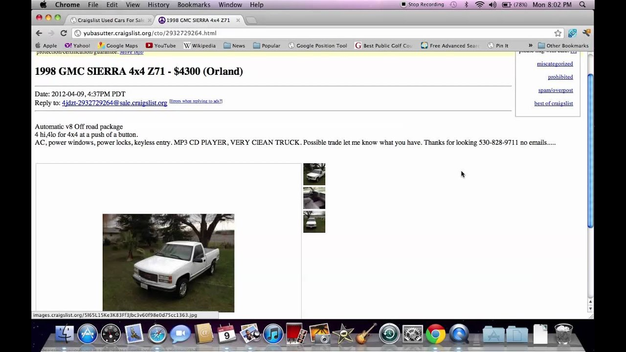 Craigslist Yuba Sutter CA - Used Dodge and Chevy Trucks, SUVs and Cars
