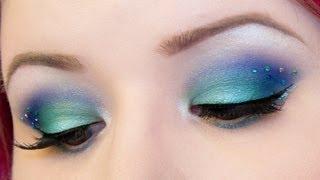 Mermaid Tail Inspired Makeup Tutorial