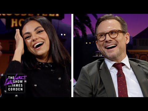 Spot the Fake Laugh w Mila Kunis & Christian Slater