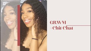 GRWM for the grocery store + Chit Chat| Beginner Friendly|Coronavirus talk| Kativa Nashay