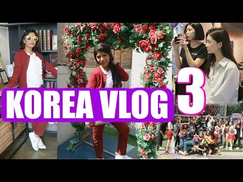 Korea Vlog | A Day In My life Vlog | Meeting KOREAN Models ,Lotte Duty Free  | SuperPrincessjo