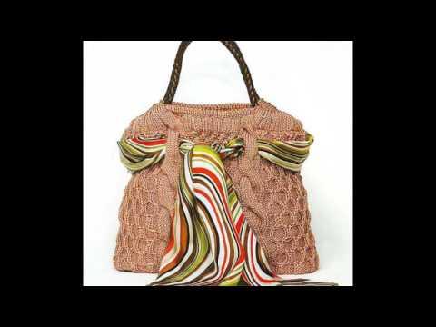 Как украсить сумку своими руками кружевом
