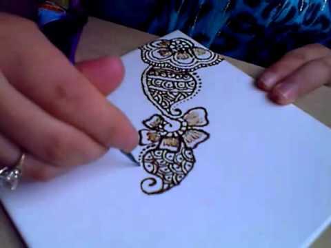 Indonesia & Arab Mehndi Design