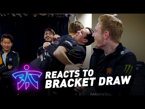 Fnatic Reacts To  Worlds 2018 Bracket Draw