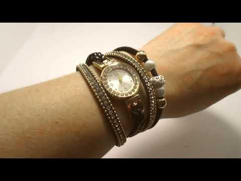 Супер браслет-часы! Очень красивый!
