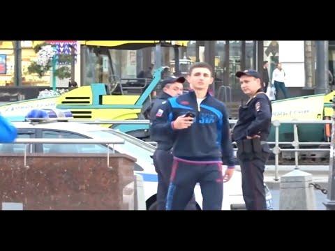 Миша Литвин пранк который никто не видел над полицией.