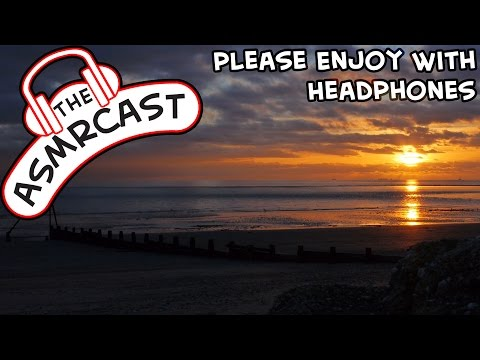 ASMR In Nature - A Cloudy Sunset Over A British Beach (Male, Whispering, Ear To Ear) [1080p 60fps]