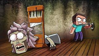 Minecraft Granny Escape - WHATS IN HER SECRET ROOM? (Granny Horror Game)