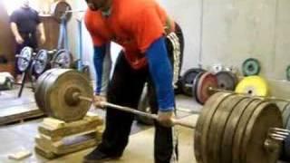 "FELIX 460kg  ""strongman 18"" deadlift x3 reps"