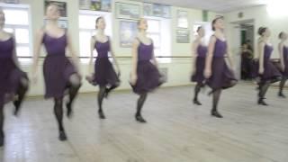 Етюд до українського народного танцю. Постановник - Курєва Каріна