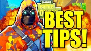 HOW TO TAKE NO DAMAGE IN FORTNITE! HOW TO GET BETTER AT FORTNITE BATTLE ROYALE SOLO TIPS!
