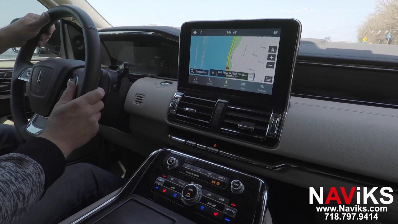 2018 Lincoln Navigator SYNC 3 NAViKS Motion Lockout Bypass Navi Menu Access  In Motion