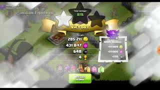 clash of clans | wizard | attack strategy th9 |gamelay| gamer are awesome