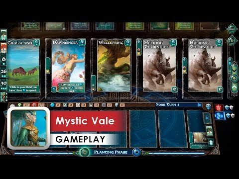 Mystic Vale Game Test HD (iOS/Android/Steam) Don't know how to play this lol