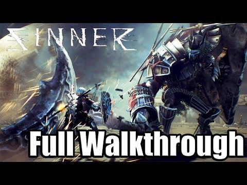 Sinner: Sacrifice for Redemption Full Game Walkthrough