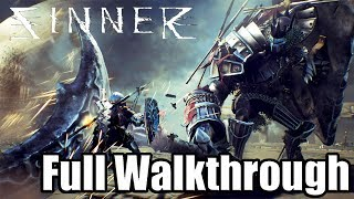 SINNER: SACRIFICE FOR REDEMPTION - Gameplay Walkthrough FULL GAME [PS4 PRO] No Commentary