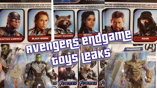 Avengers Endgame Toy Leaks show off a return of a Major character