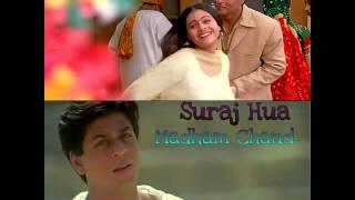 Suraj hua madham cover by satya in karaoke track