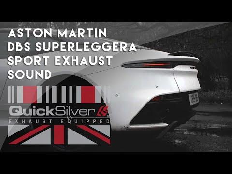 Aston Martin DBS Superleggera Sports Exhaust By QuickSilver Exhausts