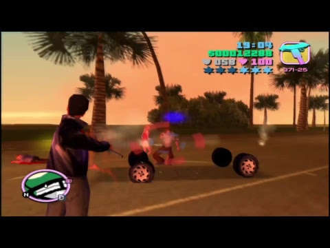 Grand Theft Auto: vice City fighting live #1
