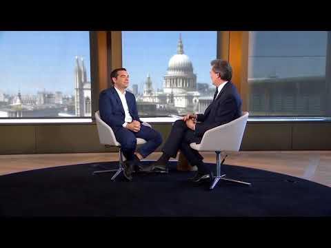 Συνέντευξη στο τηλεοπτικό δίκτυο Bloomberg