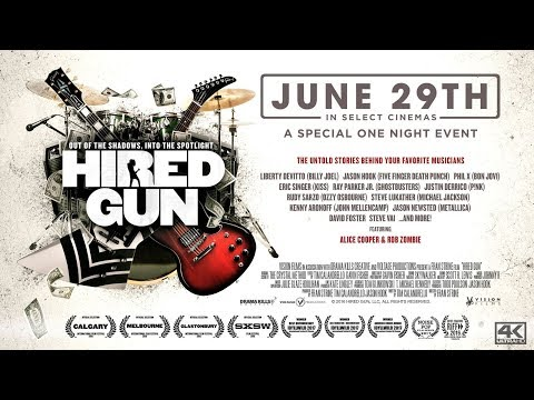 Jason Hook Interview with Lex and Terry - Hired Gun the Documentary