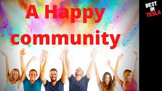 """Health, Wealth & Happiness"" Alset Ehome's community"