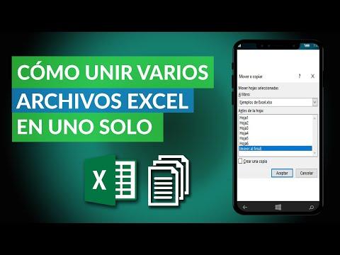Cómo UNIR Varios ARCHIVOS de Excel en uno Solo Online - Fácil y Rápido