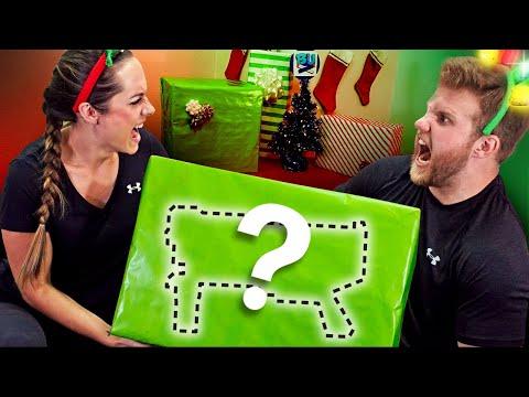 NERF Mystery Box Christmas Challenge!