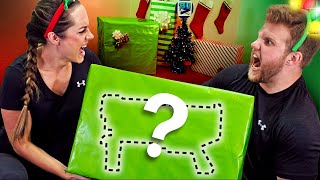 NERF Mystery Box Christmas Challenge!