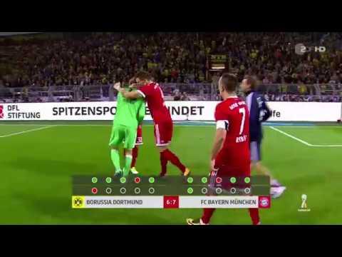 FC Bayern München vs. Borussia Dortmund || Elfmeterschiessen Supercup Finale 05.08.2017 [FULL HD]