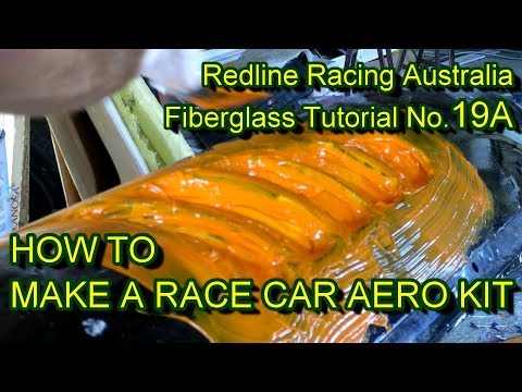How to Make a Race Car Aero Kit - Part A