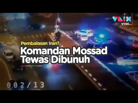 Komandan Mossad Israel Dieksekusi Tengah Jalan, Pembalasan Iran?