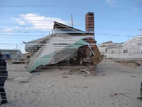 Ocean Beach 3 Lavallette Nj Hurricane
