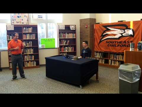 High School Baseball Signings at Southeast Guilford High School