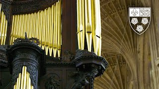Dieu parmi nous | Richard Gowers | King's College Chapel