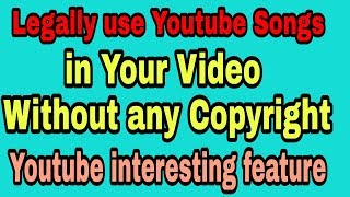 How to Legally use Bollywood Music, Movie Trailer on YouTube Video - YouTube SEO# RG Advise