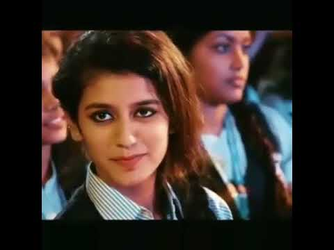 Full video of a smiling girl | priya prakash |  | viral on social network |