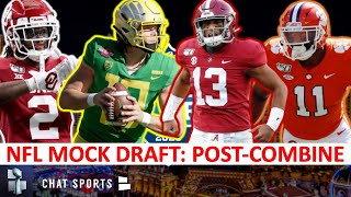 2020 NFL Mock Draft: Round 1 Projections After NFL Combine Ft. CeeDee Lamb, Isaiah Simmons & Tua