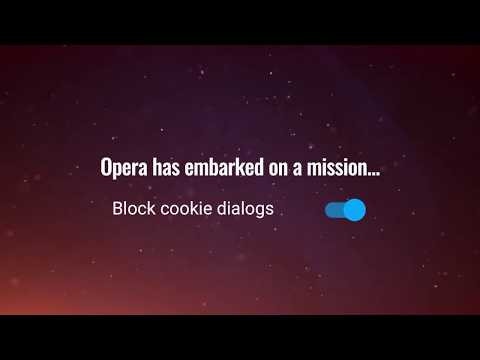No more annoying cookie dialogues with Opera browser | Opera for Android