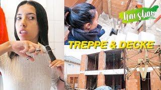 Haare schneiden, Treppe ist da & Delfinaufnahmen  Hausbau Vlog #195