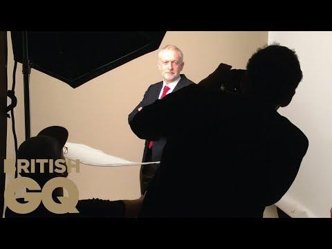 Jeremy Corbyn's GQ photo shoot: behind-the-scenes | British GQ