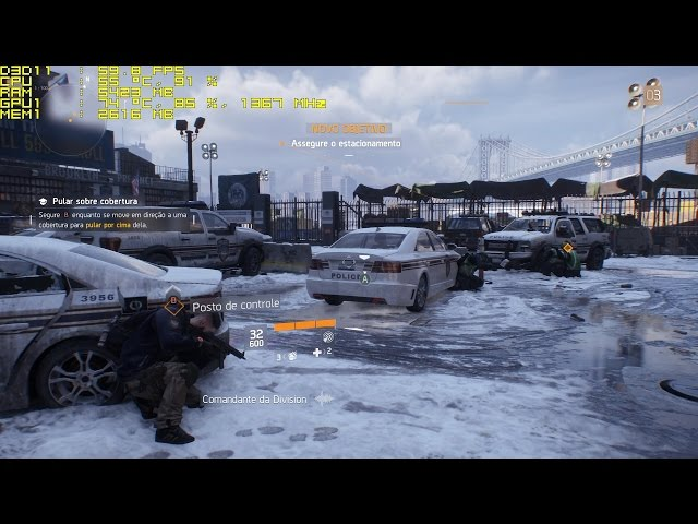 Tom Clancy's The Division PC Gameplay GTX 970   1080p 60fps